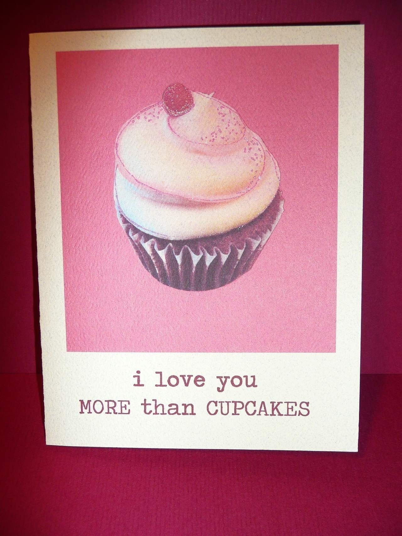 Cupcake Love - Greeting Card