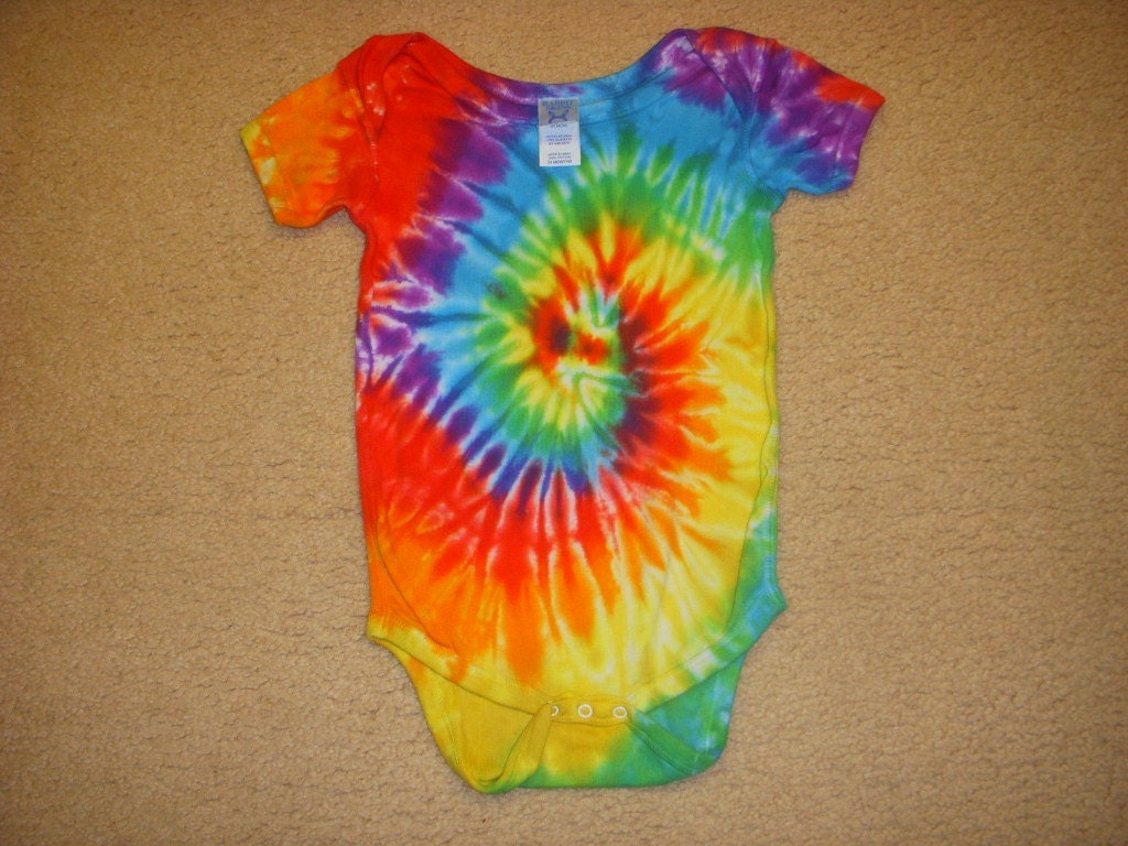 sale tie dye onesie baby suit 24 month size by
