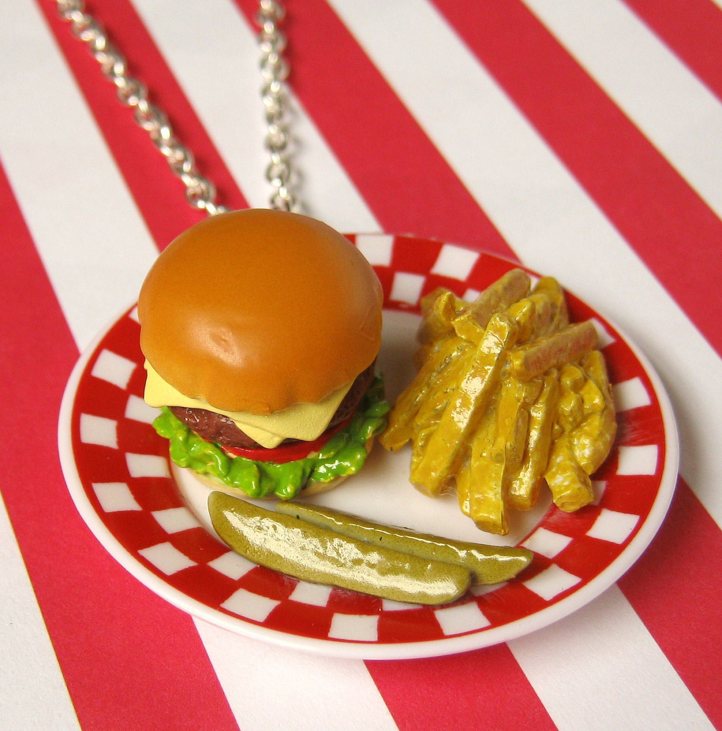 Diner Delicacy Necklace