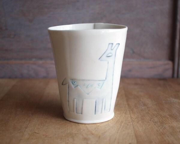 llama cup a second
