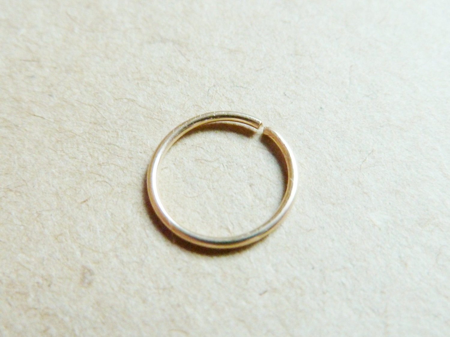 nose ring 14k gold filled cartilage piercing tiny by