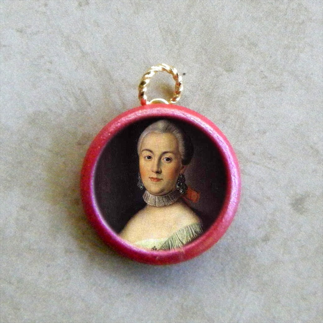 Czarina CATHERINE the GREAT Charm Pendant