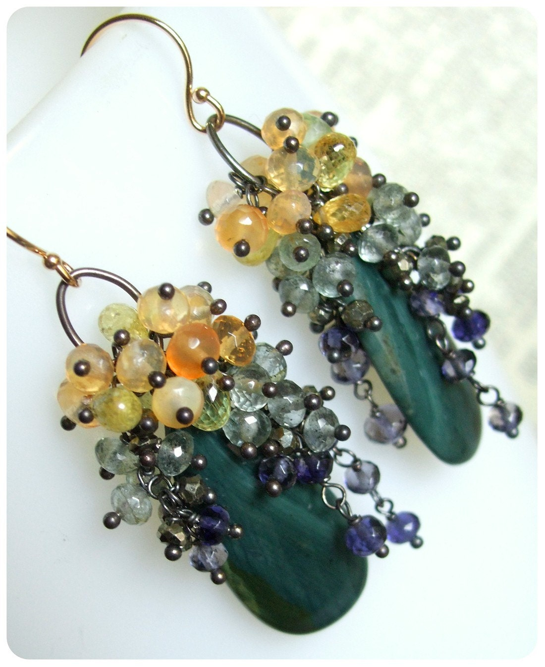 Laburnum earrings - Belle epoque - earrings