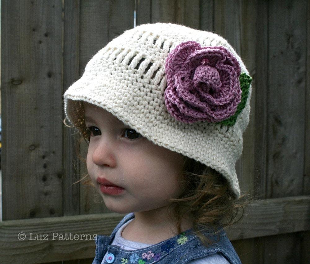 Floppy Brimmed Hat | AllFreeCrochet.com