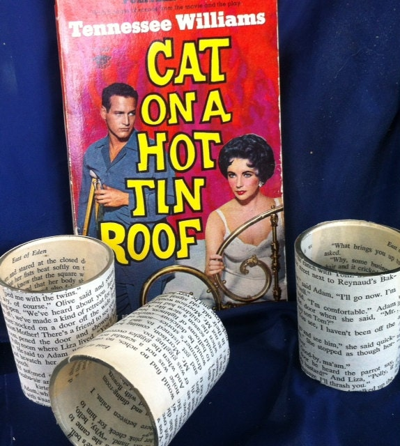 50 Elizabeth Taylor - Cat on a Hot Tin Roof - Votive Holders - Party Favors - Wedding Favors - Swag Bags