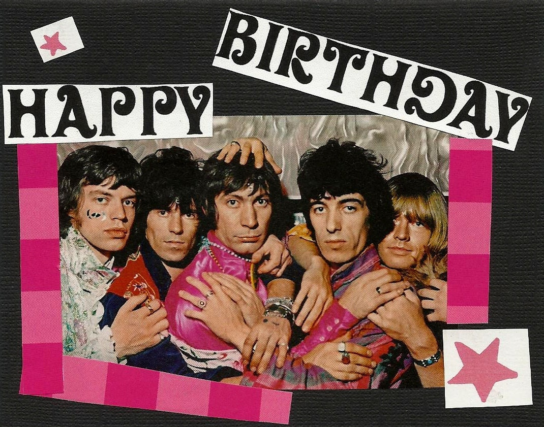 november  in the rolling stones in shidoobeeland forum, Birthday card