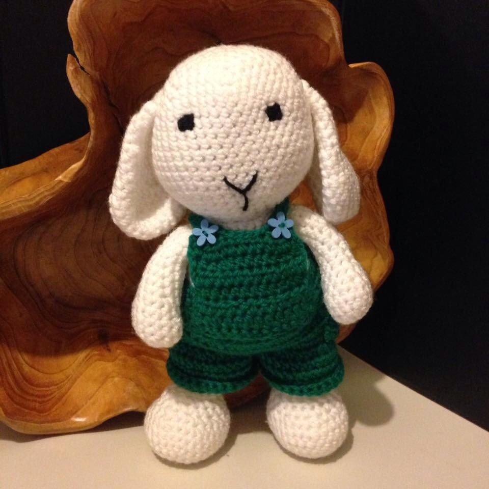Green Dungarees for Dress Me Bunny