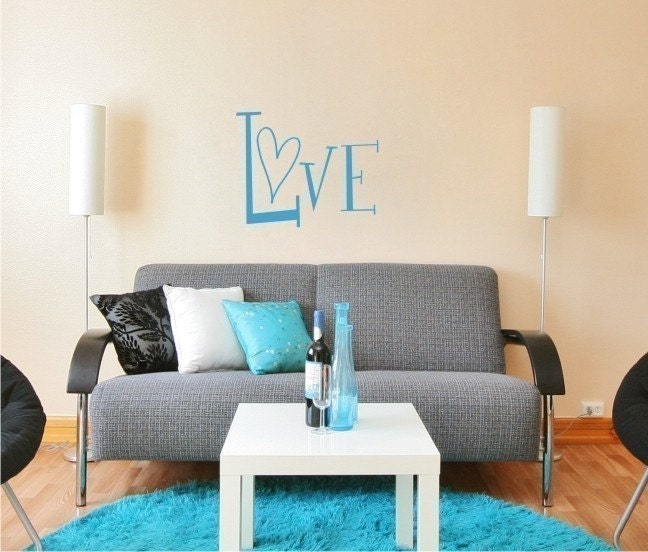Love - Vinyl Wall Decals Stickers Art Graphics Words
