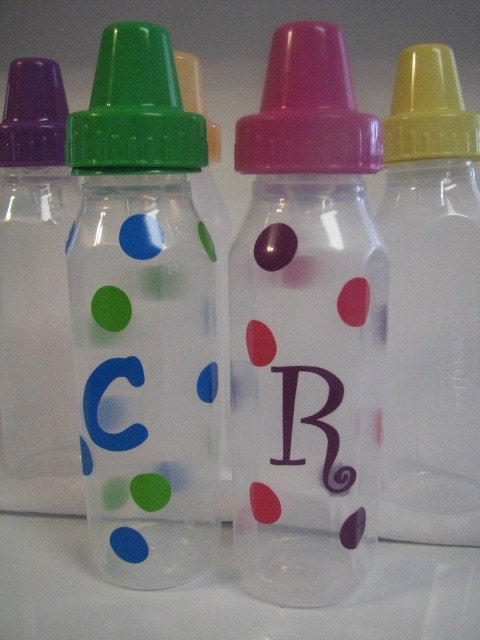 PERSONALIZED BABY BOTTLE. Evenflow. You pick color
