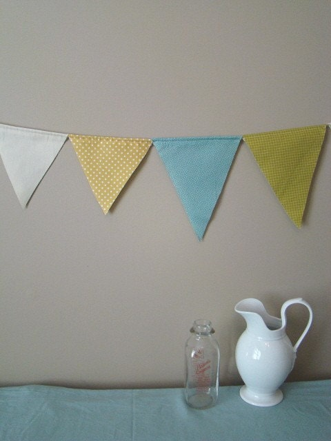 Cheerful Pennant Banner Bunting