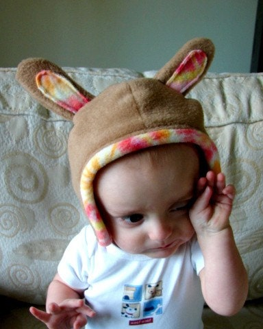 BUNNY RABBIT HAT -- Small