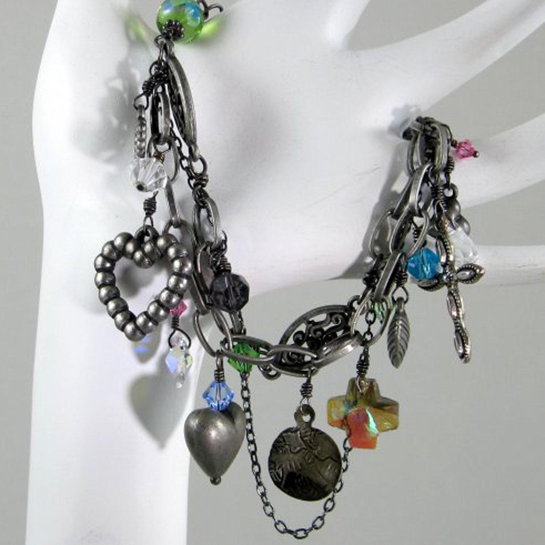 Vintage MetalWorx Sacre Coeur Bracelet