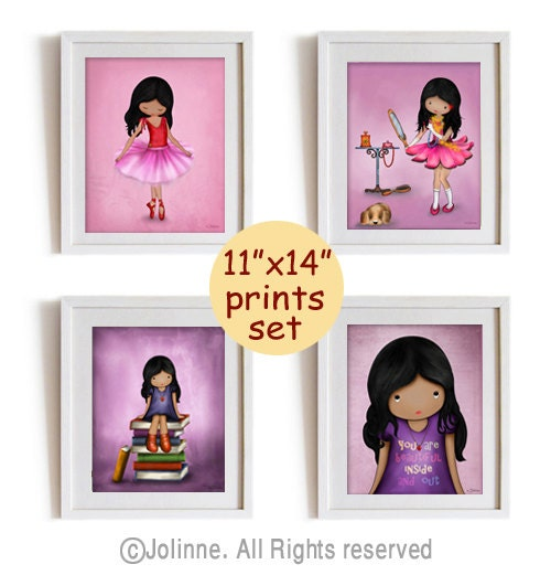 Items Similar To African American Girls Room Decor
