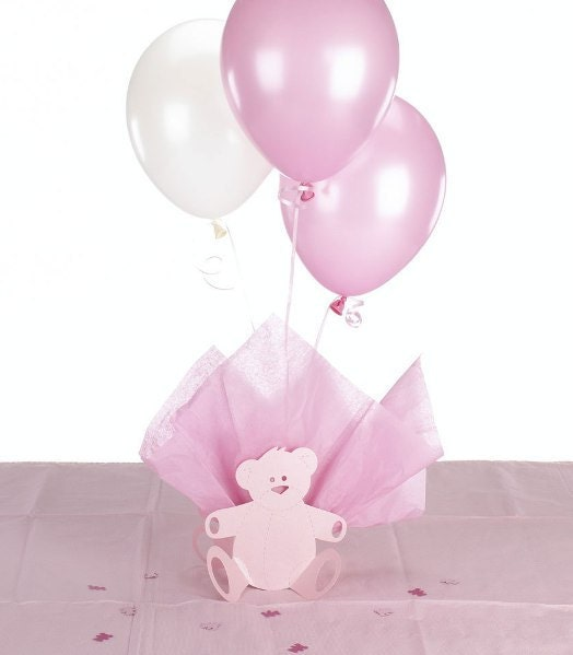 baby shower decorating kit teddy bear balloon centerpiece