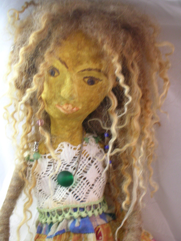 Bohemian Ballerina Art Doll