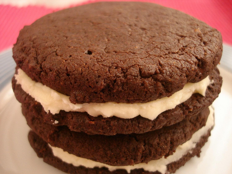 Gluten Free Vegan Chocolate Sandwich Cookies