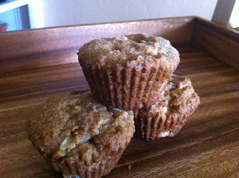 Apple-Walnut Muffins