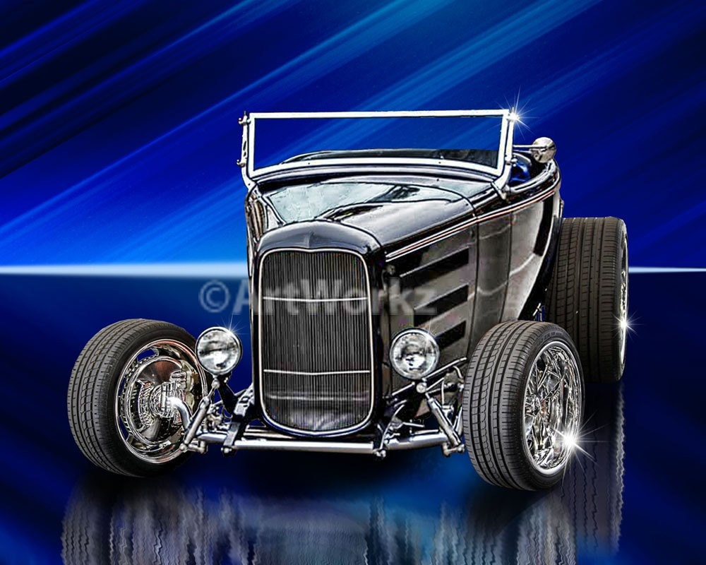 The Classic Hot Rod-'32 Ford