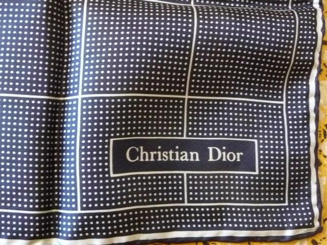 Vintage  scarf Christian Dior - PuertoRicosBazaar