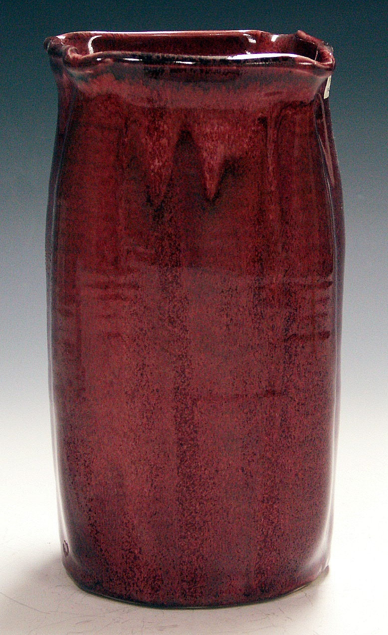 Copper red Vase - by zalt57
