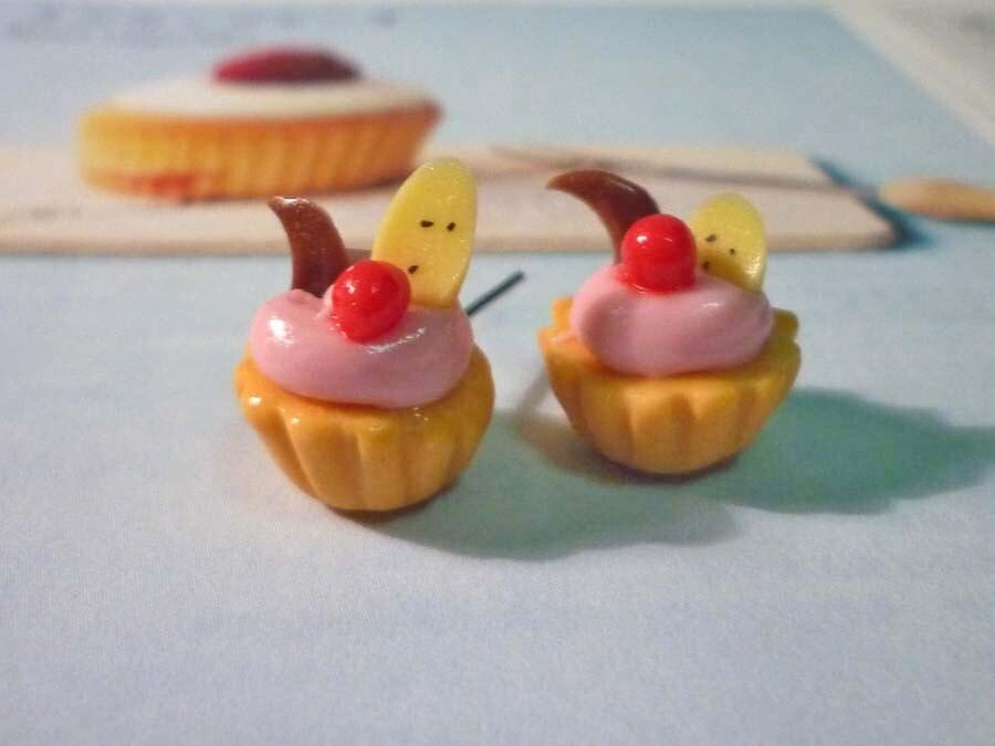 Banana Tart Earrings