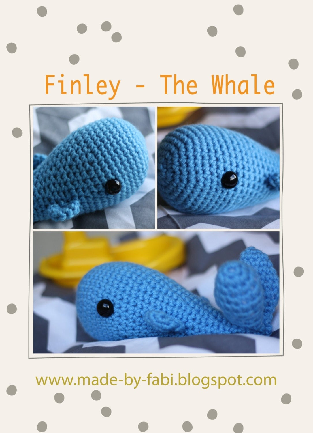 Whale Amigurumi Blue : Crochet Amigurumi Whale Baby Mobile Soft Toy by ...