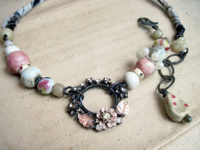 What Are You Looking For. Vintage Rustic Choker.