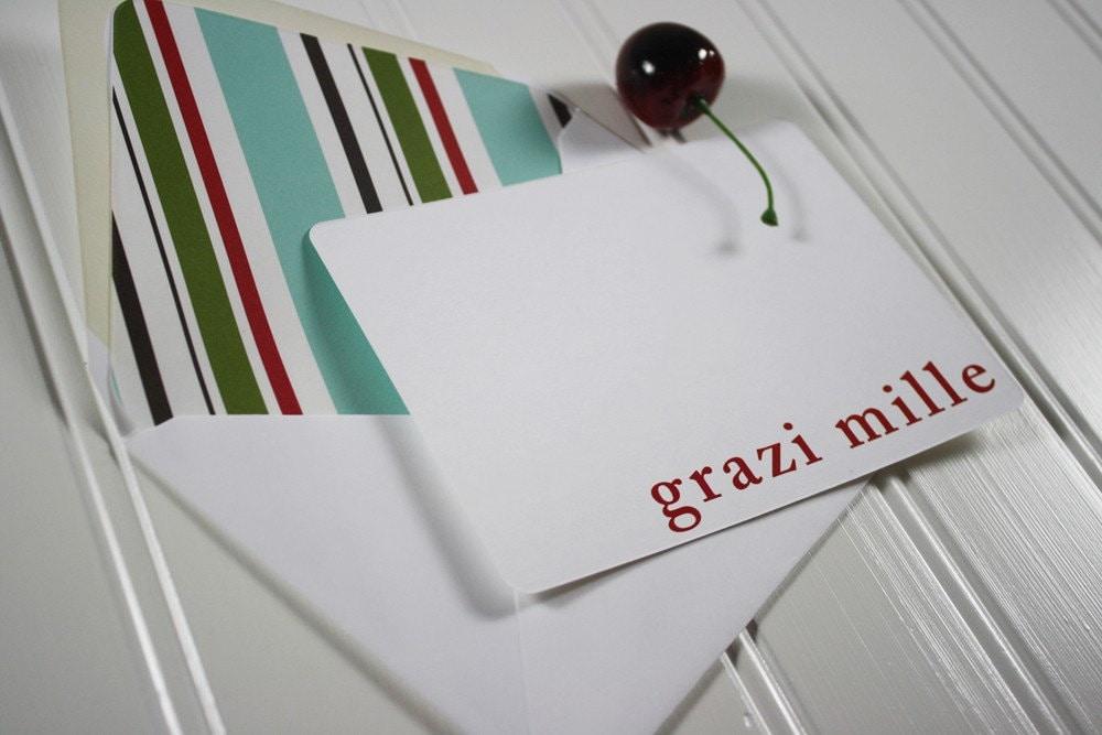 Grazi Mille Note Cards