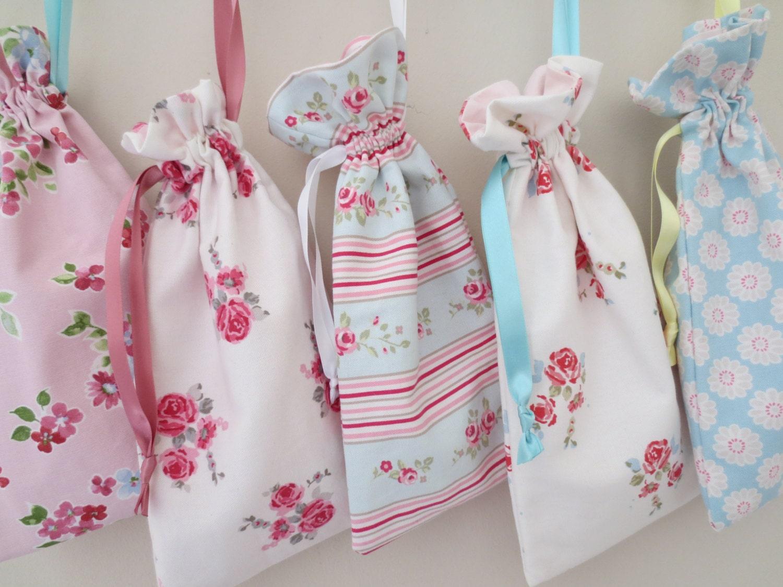 Drawstring Bag  Floral Bag  Ballet Shoe Bag  Gift Bag  Make Up Bag  Bridesmaid Bag  Nappy Bag  Baby Bag  Flower Girl Bag  Toy Bag