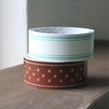 Wide Pattern Paper Tape - 35mm