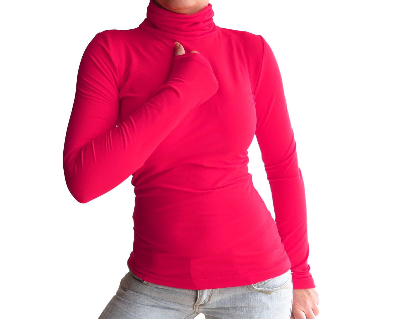 Turtleneck Shirt For Women