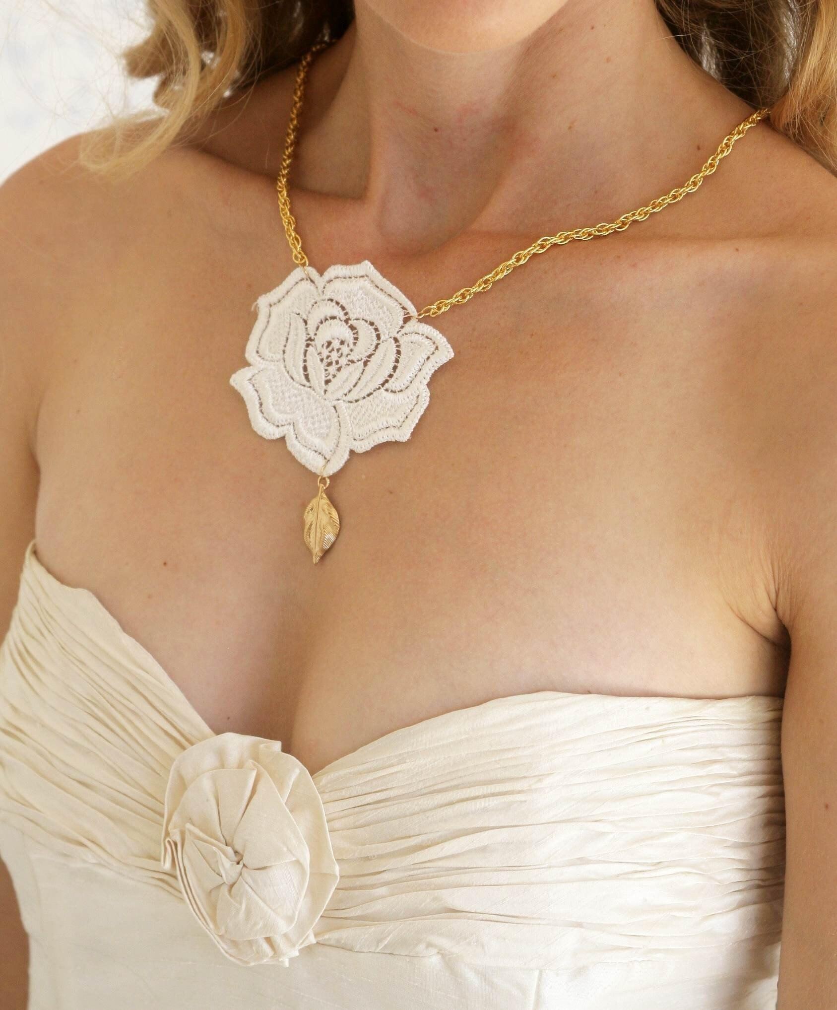 Buy 1 Get 1 SALE -Rose necklace