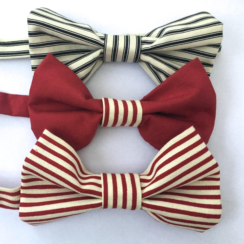 Image du produit Noeuds papillons Stripes Bow Tie