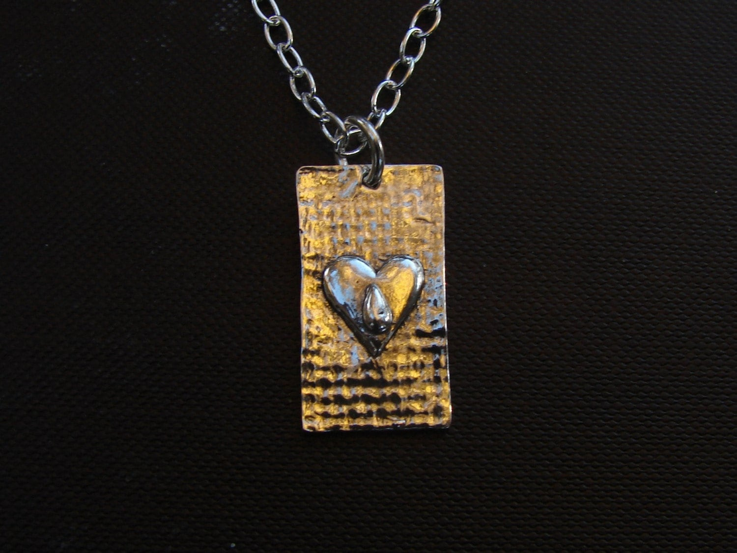 Tears necklace on - NILMDTS Fundraiser