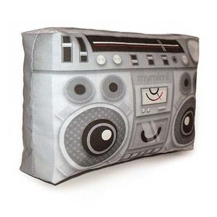 BoomBox - Mini Decor Pillow