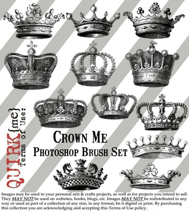 Crown+brushes+photoshop