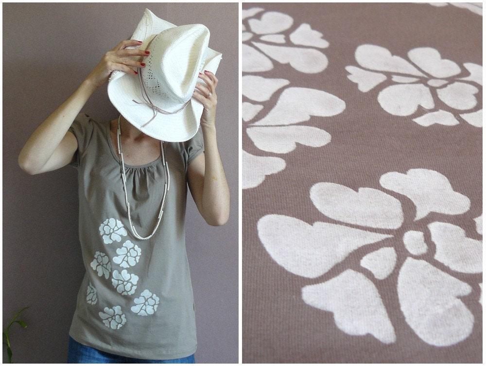 JOLIE PERLE  French  embellished women tee shirt many sizes available