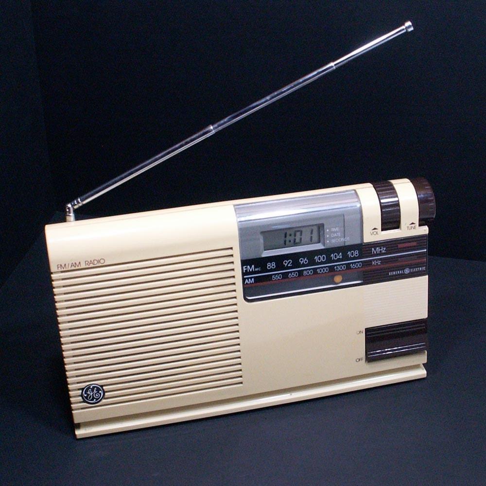 Retro GE Kitchen Companion Radio By AilorsAttic On Etsy