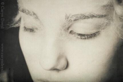 SALE - Cobwebs In Her Eyes - Signed Print