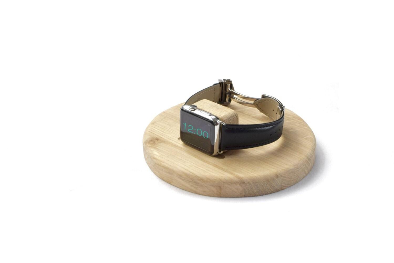 Apple Watch  Signature  Stand  Dock  Oak
