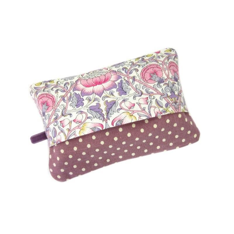 Pocket Tissue Holder Travel Tissue Case Purple Tissue Cover Secret Santa Gift Christmas Stocking Filler