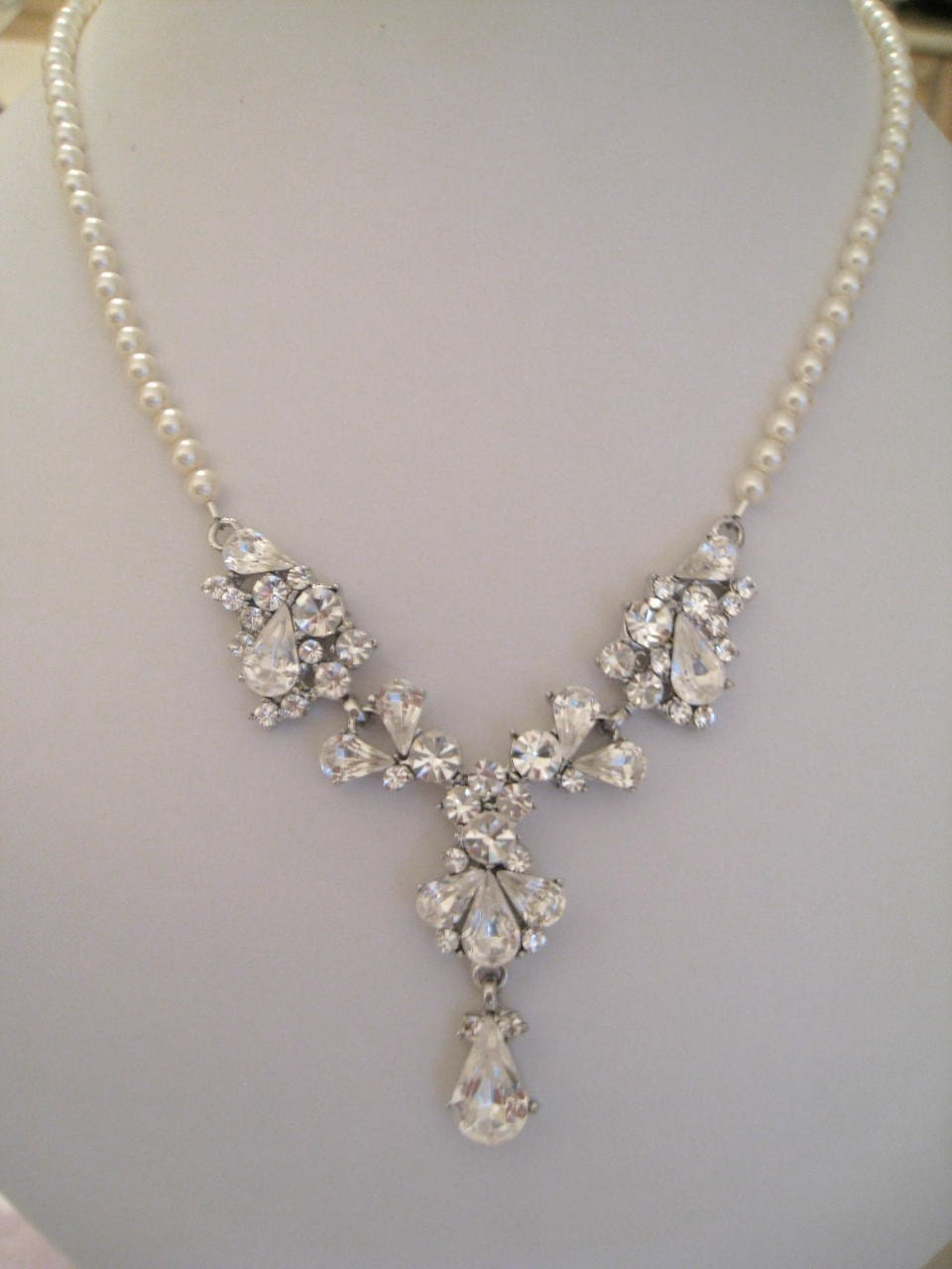 Bridal Set Rhinestone Glory