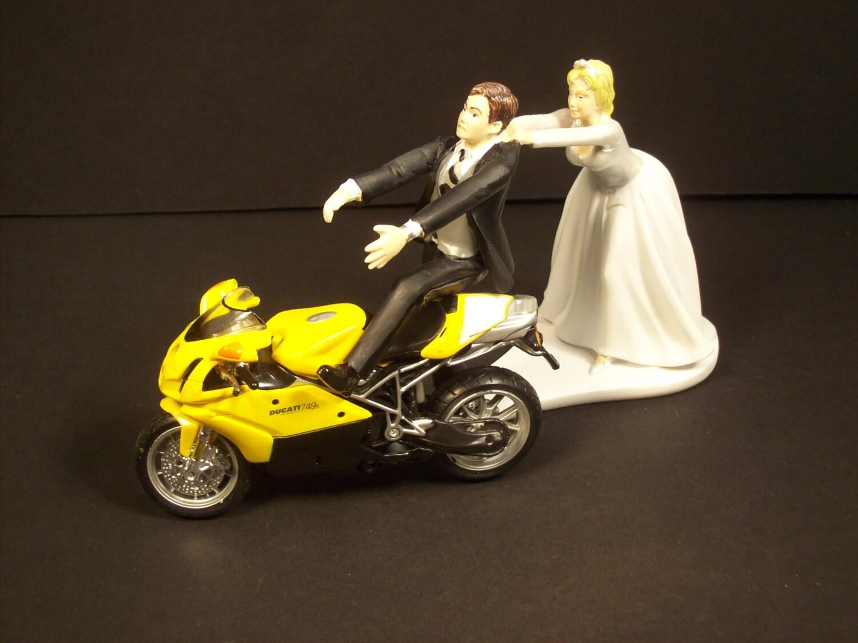 Superbike wedding