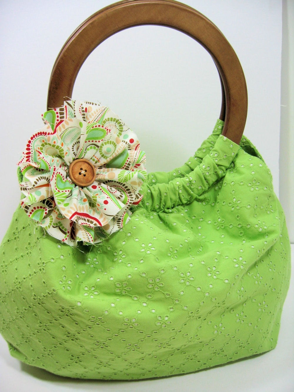 C A S S I E  Handbag -- Choose Your Own Fabric