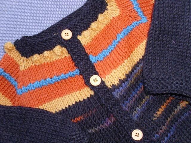 ژاکت ژاکت کش باف پشمی Knitted برای سن کودک 2 - 3 در پشم