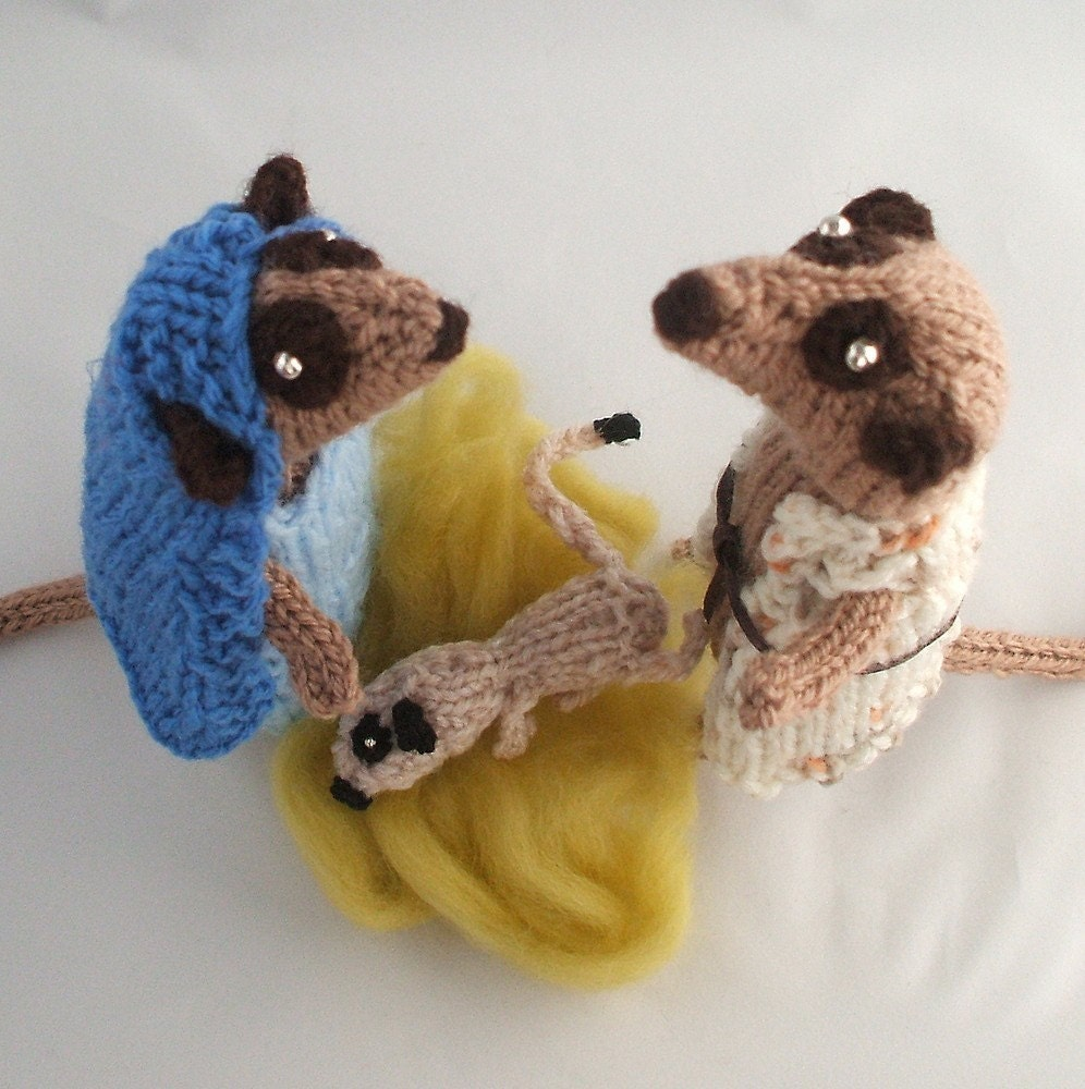 Christmas Nativity Meerkats