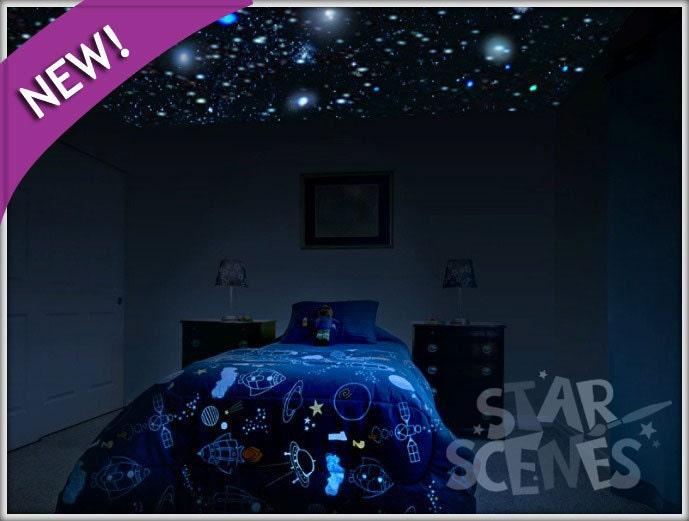 Items Similar To Glow In The Dark Secret Star Ceiling