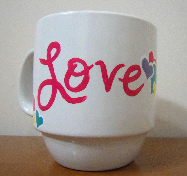 Love and Hearts Mug