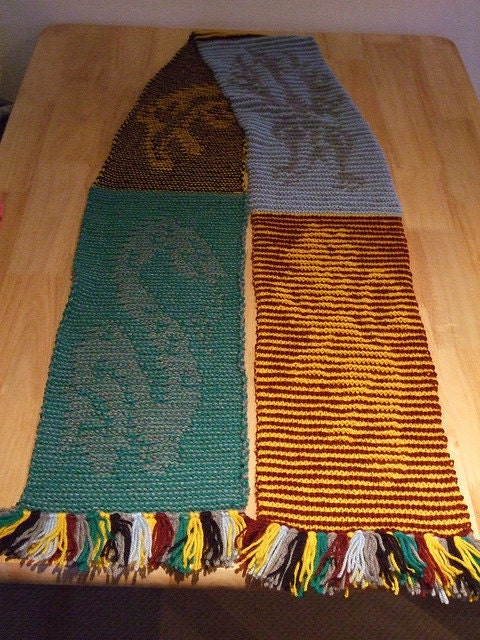 Harry Potter Scarf Knitting Pattern Slytherin : Unavailable Listing on Etsy