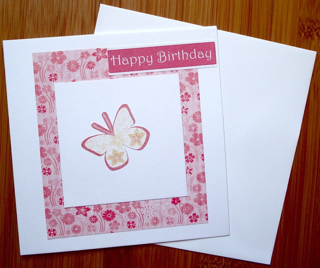 handmade birthday cards. Handmade Birthday Card by